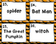 Common and Proper Nouns Halloween Version- Scoot Game- Tas