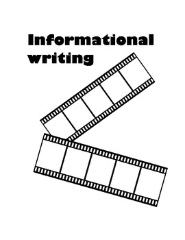 Common core writing: Informational Spring Unit