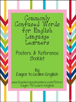 Commonly Confused Words for English Language Learners (ELL