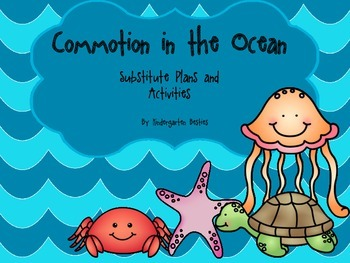 Commotion in the Ocean Sub Plans