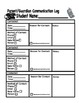 Communication Binder Paperwork