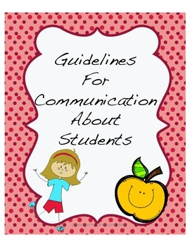 Communication Protocol regarding students on IEPs