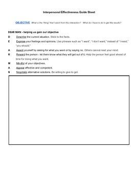 Communication Skills-Interpersonal Effectiveness