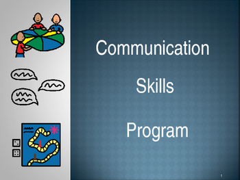Communication Skills Program - Editable - 38 Pages