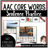 Communication Symbol Sentence Practice for AAC Users speec
