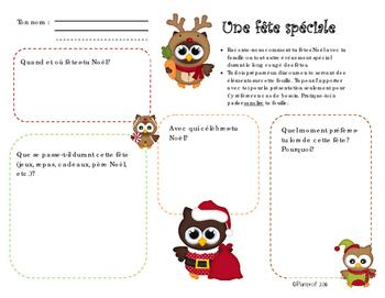 Communication orale - Noël