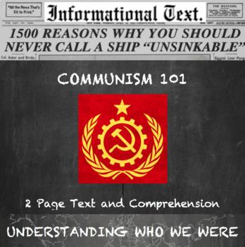 Communism 101