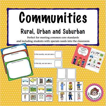All About Communities - Rural, Urban and Suburban