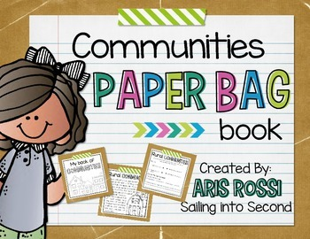 Communities Paper Bag Book