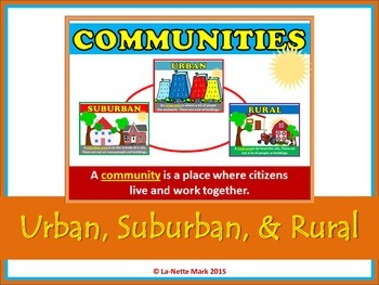 Communities (Urban, Suburban, and Rural)