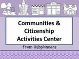 Communities and Citizenship Activities Center