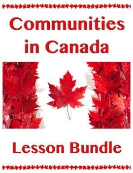 Communities in Canada // BIG UNIT BUNDLE // Canadian Histo