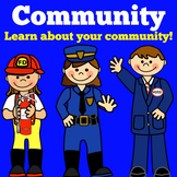 Community Helpers PowerPoint | Community Helpers Activity