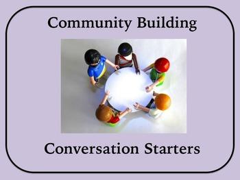 Community Building Conversation Starters (50 questions)