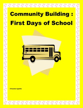 Community Building: First Days of School