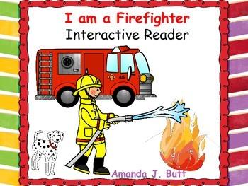 Community: Firefighter Interactive Reader; Kindergarten; S