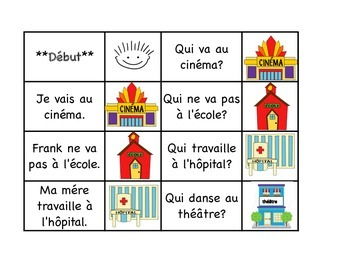 """Community - 32 French Race Card Game """" I have, who has"""" Fr"""
