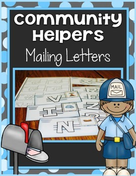 Community Helper Center ~ Mailing Letters