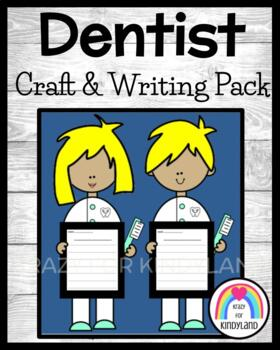 Community Helpers Craft and Writing: Dentists