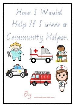 Community Helper / Occupation Book