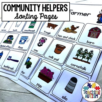 Community Helper Sorting Pages