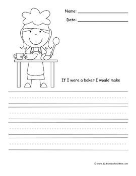 Community Helper Writing Prompts (Kindergarten & 1st Grade)