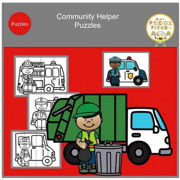 Community Helper's and Their Vehicles