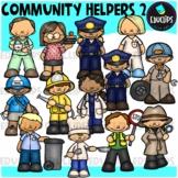 Community Helpers 2 Clip Art