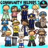 Community Helpers 2 Clip Art