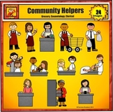 Community Helpers 5 - Grocery Store, Clerical, and Cosmetology