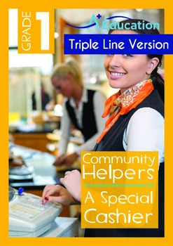 Community Helpers - A Special Cashier (with 'Triple-Track
