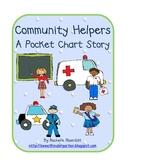 Community Helpers - A pocket chart story