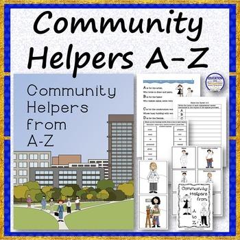 COMMUNITY HELPERS A to Z Rhyme Bundle