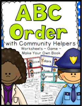 Community Helpers: ABC Order