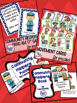 Community Helpers Activity Bundle