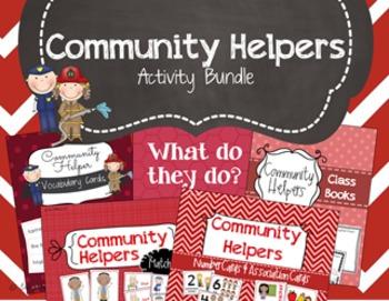 Community Helpers Activity Bundle - Preschool Social Studies