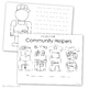 Community Helpers Activity Craft