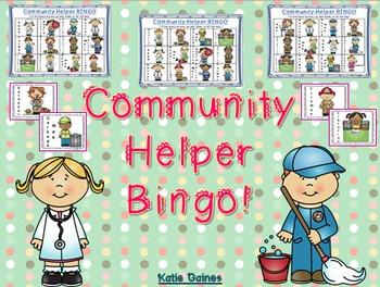 Community Helpers BINGO!