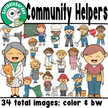 Community Helpers Career ClipArt