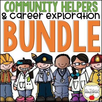 Community Helpers & Career Exploration Bundle