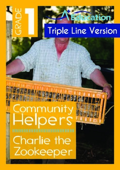 Community Helpers - Charlie the Zookeeper (with 'Triple-Tr