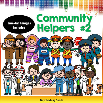 Community Helpers Clipart Set 2