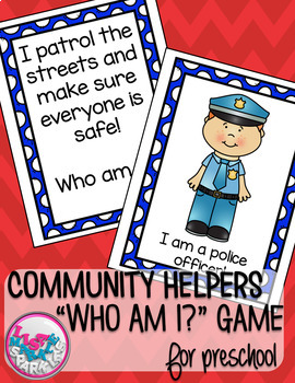 Community Helpers Comprehension Activity