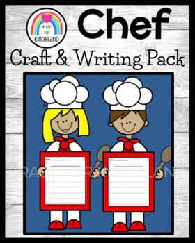 Community Helpers Craft and Writing: Chefs