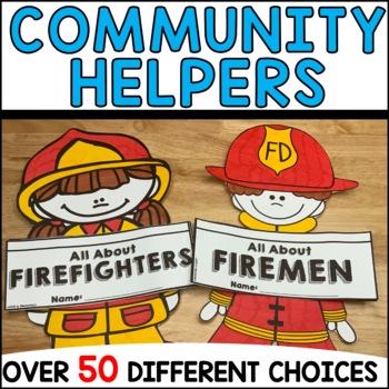 Community Helpers Craftivity