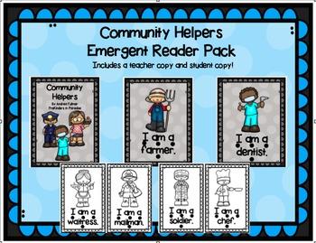 Community Helpers Emergent Reader Pack