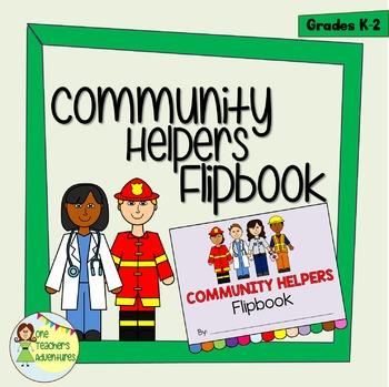 Community Helpers Flipbook Project for K-2
