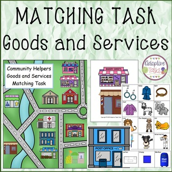 MATCHING TASK Goods and Services