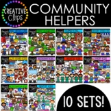 Community Helpers Bundle {Creative Clips Digital Clipart}