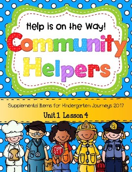 Community Helpers (Help is on the Way! Journeys 2017